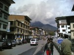 The town of Thimpu - Bhutan