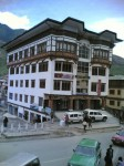 Our hotel in Thimpu - Bhutan
