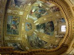 Amazing interiors of a Rome church