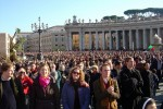 Attending the christmas mass at St Peter's Square