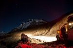 Beautiful view of Rohtang Pass at night