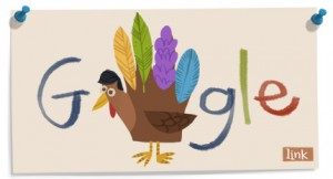 Thanksgiving 2011 Google Doodle