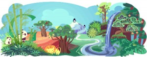 Earth Day 2011 Google Doodle